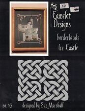Camelot Designs Borderlands ICE CASTLE Counted Cross Stitch Pattern Booklet 16