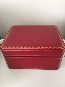 Large Cartier Roadster Watch Box , Very rare