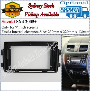 For 9 Nine Inch Screen Fascia facia Fits Suzuki SX4 2007-2013-