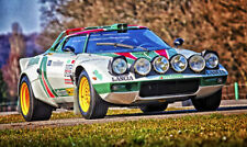 Lancia Stratos Rally (1) XXL LARGE OVER 1 METER WIDE Glossy Poster **UK SELLER**