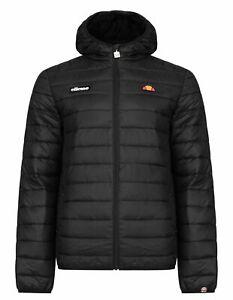 Ellesse Lombardy Padded Puffer Jacket Mens New Warm Winter Hooded Winter Coat