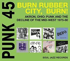 Soul Jazz Records Pr - Punk 45: Burn / Rubber City / Burn - Akron Oh [New CD]