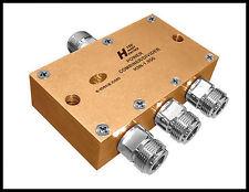 5 new MECA H3N-1.950, 1.7-2.2 GHz 120W, 3-Way Power Divider, N-Female Connector.