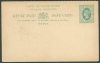 BRITISH CAPE OF GOOD HOPE Reply Unused P Stationery