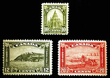 Canada #173-#175 1930-31 Odds n Ends F-VF MLH 3 items CV $120