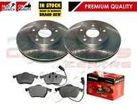 FOR AUDI A4 A6 TDI V6 MINTEX FRONT BRAKE DISC DISCS & BRAKE PAD PADS - 312mm