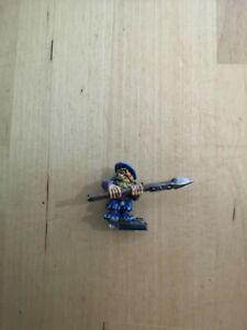 Warhammer Fantasy Marauder Dwarf Clansman With Spear 6 Metal