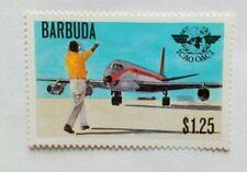 BARBUDA $1.25 POSTAGE STAMP MINT HINGED ICAO