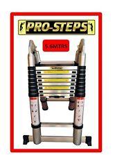 Escalera telescópica 5.6 mtrs A-Type marca Pro-Steps