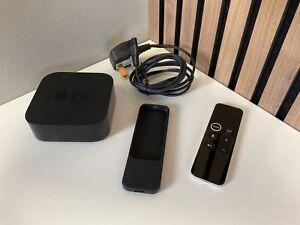 Apple TV A1625 4th Generation Media Streamer + Remote + Silicon Remote Case