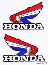 Honda Wing XR75 XR80 XR100 XR250 XR350 XR500 XR Fuel Gas Tank Decal Sticker