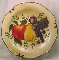 Granada Dinner Plate Home Trends Colorful Fruit