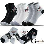 NEW 3-12 Pairs Mens Sports Ankle Quarter Cotton Crew Socks Low Cut 9-11 10-13