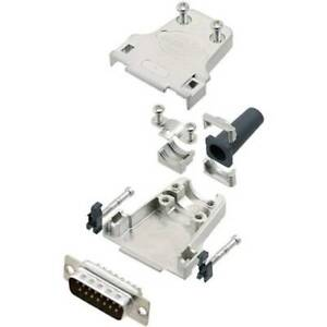 Amphenol kit connettori maschio sub-d 180 poli 37 punte a saldare 1 pz