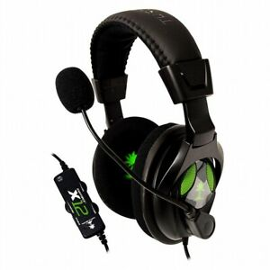 Turtle Beach Ear Force X12 Wired Amplified Stereo Gaming Headset - New/Old Stock