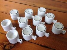11 IKEA Hygge Ehlen Johansson Porcelain Tea Light Candle Interlocking Holders