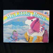 Vintage My Little Pony Paper Doll Moondancer Complete In Box 1984 Spike Dragon