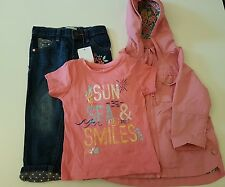 New Bundle girls clothes age 18 -24 months jeans + hoody + jacket 1-1/2 years
