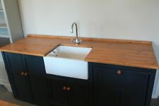 Handmade Belfast Sink Units Period Inspired Rustic Kitchen Cupboards.