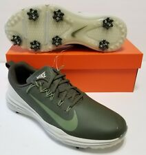 Size 11 Nike Lunar Command 2 Golf Shoes 849968 300 Waterproof Khaki Green Mens