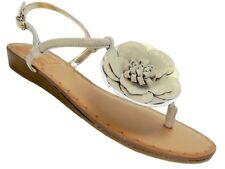Carlos by Carlos Santana Women's Teagan Sandals Sunny Gold Leather Size 6.5 M