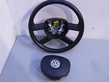 02-2009 VW POLO 9N (PRE FACELIFT) 1.2 PETROL STEERING WHEEL AND AIRBAG 6Q0419091