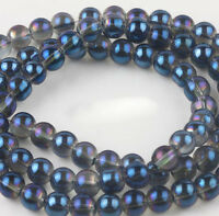 Lots Round Czech Crystal Glass Spacer Beads Jewelry Findings DIY Making Crafts