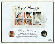 St KITTS 14 JULY 2011 ROYAL WEDDING M/SHEET O/S VLE FIRST DAY COVER