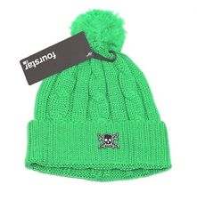 Fourstar Clothing Skateboards Pirate Cable Knit Pom Beanie Hat CLEARANCE