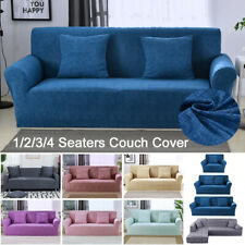 1/2/3/4 Seaters Slipcovers Stretch Spandex Sofa Couch Furniture Armchair Cover