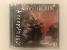 🔥 Martian Gothic: Unification (Sony PlayStation 1, 2001) PS1 Brand New Sealed