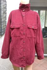 Vintage Woolrich Mens L / Large Corduroy Hunting Field Jacket Coat Fully Lined