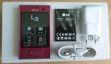 LG E400 Optimus L3 Pink Rosa Girls Mädchen 3G WLAN Android Smartphone NEU