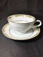 Noritake Japan Pattern 6872 Warrington Fine China Cup And Saucer