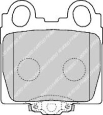 Rear Brake Pad Set Fits Lexus Toyota OE 446630120 Ferodo FDB1610