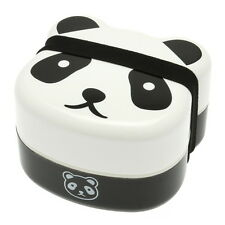 1pc Japanese Panda Face 2-Tiered Bento Box for Made In Japan #280-129