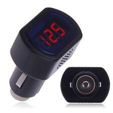 Car Auto 12V/24V Display LED Digital Car Vehicle Cigarette Socket Thermometer