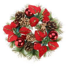 Christmas Couronne 30 cm avec décoration de Noël Décorations de Noël