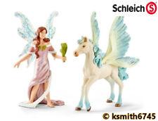 Schleich SAFENJA & PET SET winged horse Bayala fairy plastic toy animal * NEW 💥