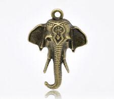 Elefanten Modeschmuck-Anhänger aus Metall-Legierung