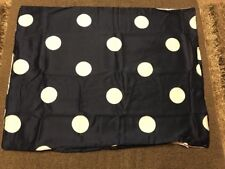 Jcp Home Big Dot 100% Pima Cotton Sateen Standard/Queen Pillow Shams 20�x26�Navy