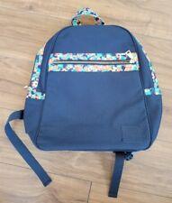 NWOT LULAROE Supply Backpack NAVY BLUE Multi Floral Print