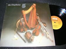 THE CHIEFTAINS 5 Gatefold Made In England LP Clean Celtic Folk CBS 1975 Original