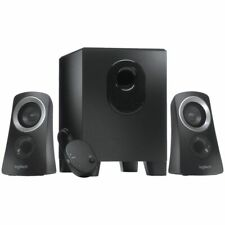 NEW Logitech Speakers 25 Watt Speaker System Black Z313 Computer Speakers