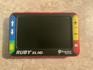 Ruby XL HD Freedom Scientific High Definition Video Magnifier BROKEN SCREEN