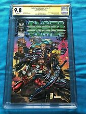 Cyberforce Limited Series #1 - Image - CGC SS 9.8 - Signed by Marc Silvestri