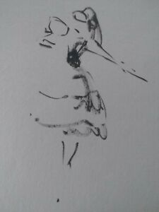 Watercolor Figure sketches, Sheldon Bergh