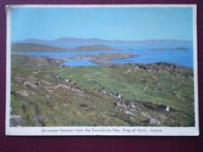 POSTCARD KERRY DERRYNANE HARBOUR FROM THE COOMAHISTA PASS