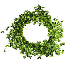 Artificial Foam Eucalyptus Wreath, Green, 18-Inch