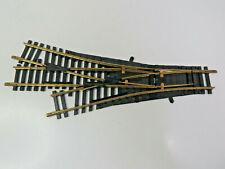 Dreiwegeweiche,manuell,Fleischmann Modellgleis,6057,Anlagenabbau,HB